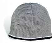 Heavyweight Capital Shaker Knit Beanie with Contrasting Trim interior Microfleece Lining