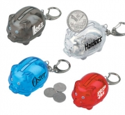 Mini piggy bank keychain for promotion