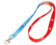 Printed nylon lanyards for promotion