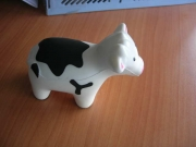 Lovely PU cow stress relievers
