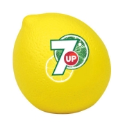 Customized Promotional OEM PU Lemon Stress Ball With Branded Logo